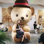 全球授权展・中国站圆满成功,6米高泰迪熊成为美女收割机!