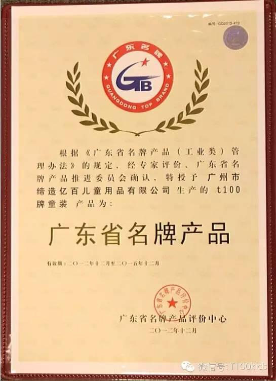 T100成功通过复评 续享广东省殊荣