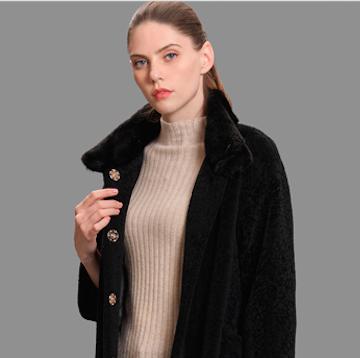 3ffusive秋冬大衣新品  让女性傲立于时尚圈