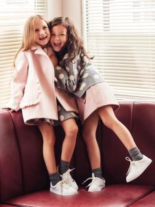 香蕉宝贝童装新款女童外套