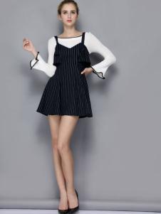 依路佑妮时尚两件套裙装