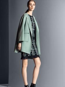 卡索女装时尚短款精致大衣