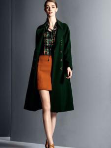 卡索女装气质欧美潮流大衣