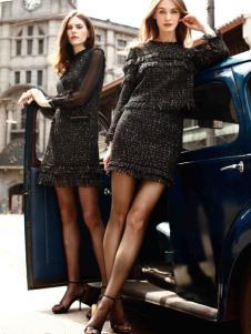 卡索女装优雅套装17时尚新款