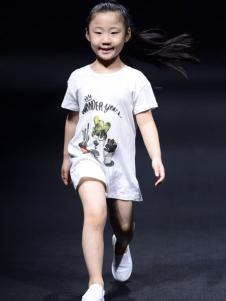 NNE&KIKI女小童简约印花裙