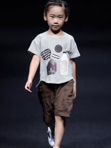 NNE&KIKI童装男童印花T恤