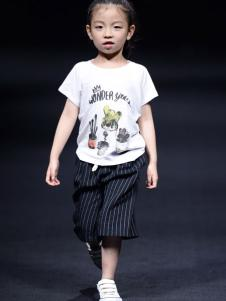 NNE&KIKI童装女童印花T恤