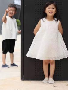 NNE&KIKI童装韩版公主裙