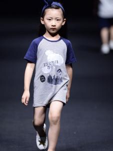 NNE&KIKI童装女童拼接连衣裙