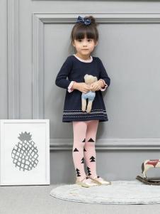皇后婴儿女小童时尚上衣17新款