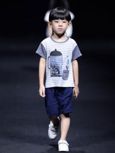 NNE&KIKI童装时尚拼接T恤