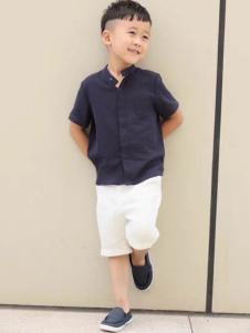NNE&KIKI童装男童衬衫