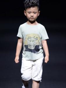 NNE&KIKI童装男童个性印花T恤