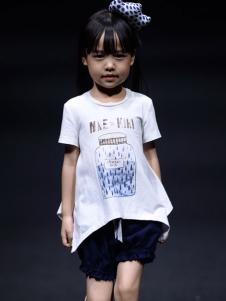 NNE&KIKI童装女小童个性上衣夏款