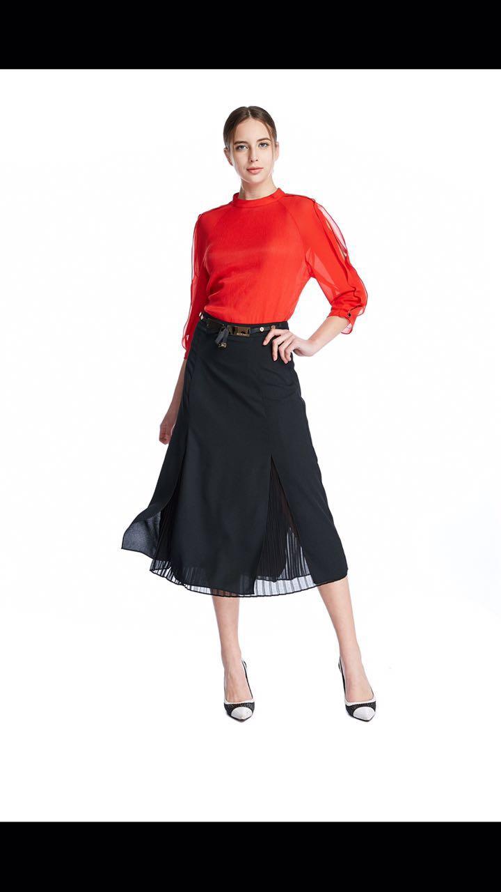 布石17春装韩版时尚女装批发 品牌折扣店货源厂家直销走份
