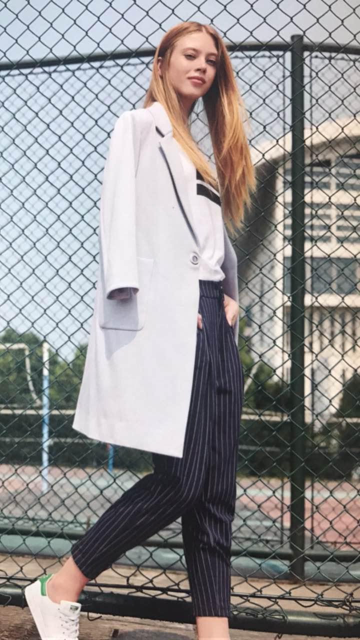 杭州一线品牌 布同17春装新款女装货源批发 品牌折扣尾货走份