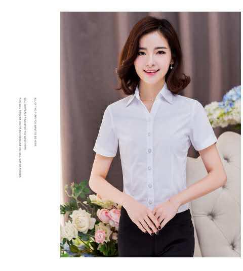 福建面试酒店工作装厂商——泉州女士职业衬衫