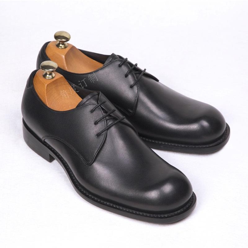北京私人订制手工皮鞋-男士大头皮鞋