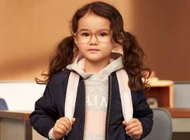 H&M在开学季到来之前发布童装系列广告大片