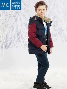 米奇城堡童装羽绒服