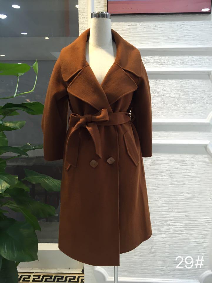 时尚女装 第三批双面妮羊绒大衣 品牌折扣尾货批发 一手货源