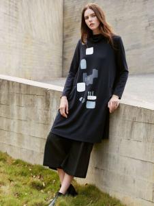 唯简尚女装棉麻连衣裙17新款