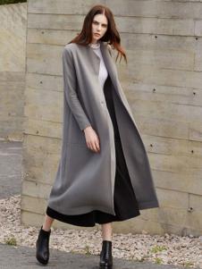唯简尚女装双面呢大衣