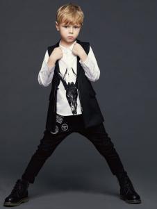 YukiSo童装男童个性两件套