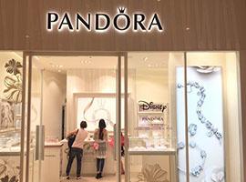 潘多拉二季度销售同比上涨12% 中国区销售增长91%