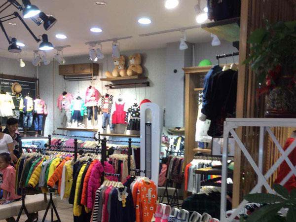 YukiSo童装加盟店 品牌旗舰店店面