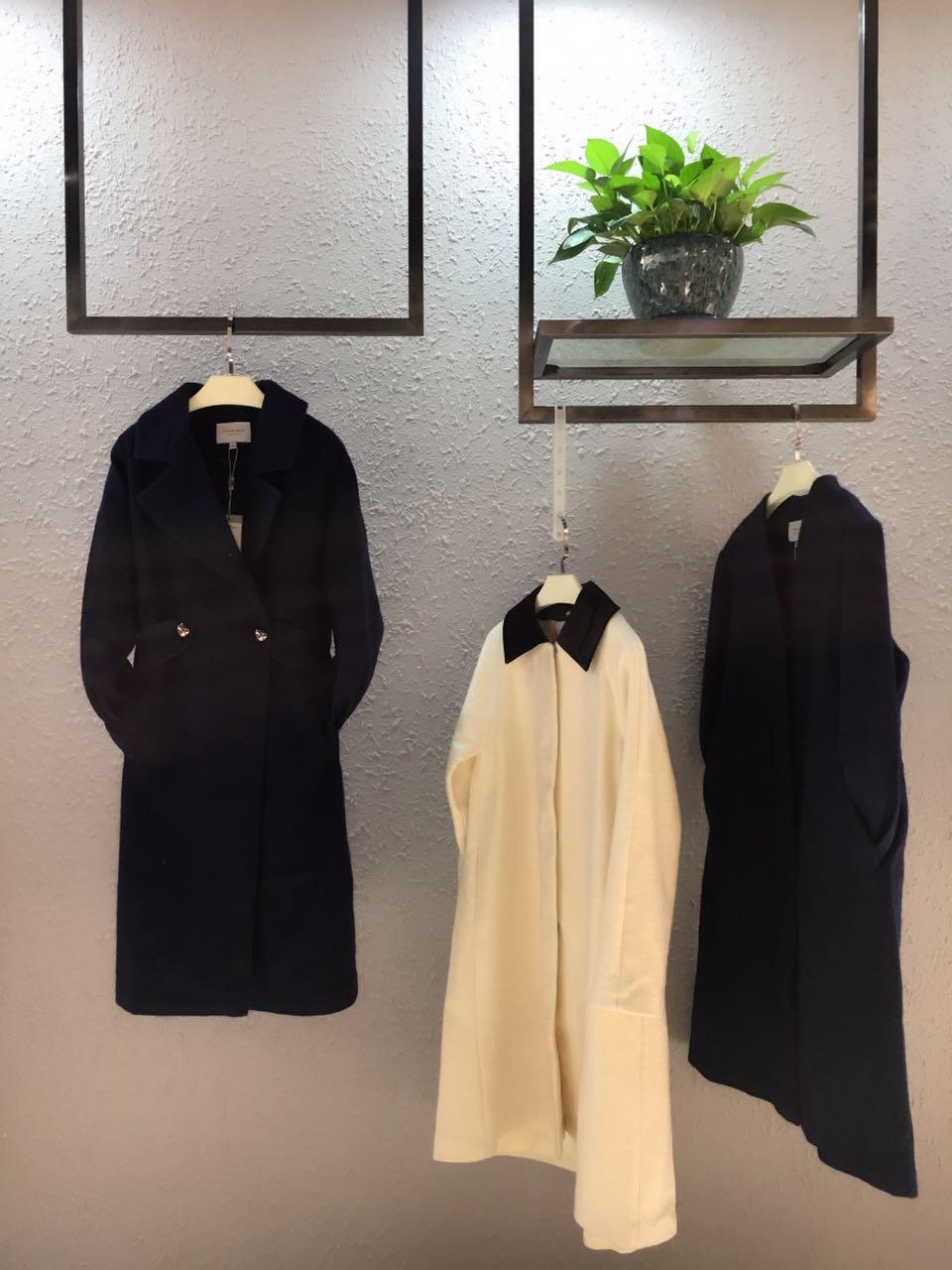 杭州西子念女装大衣外套2017全大件 淑女欧美风格