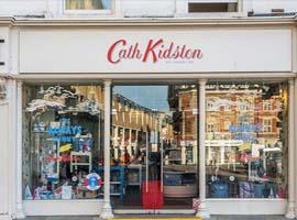Cath Kidston最近在亚洲混的很好 专卖小碎花