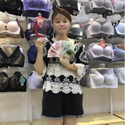 坚持梦想,都市新感觉王小姐内衣加盟店开业业绩破万