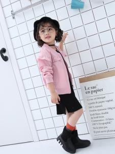 淘淘猫新款浅粉色女童外套