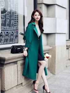 千姿惠女装2017新款大衣