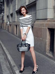 千姿惠女装2017新款连衣裙