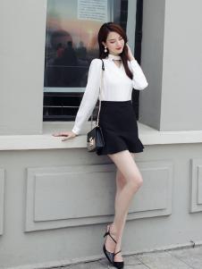千姿惠女装2017新款短裙