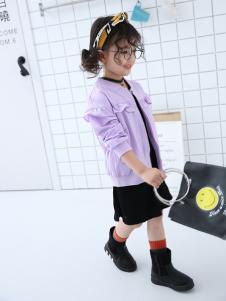 淘淘猫新款浅紫色外套