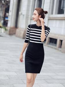 千姿惠女装2017新款包臀裙