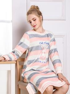 卓娅佳人ZHOYA新款女士睡衣