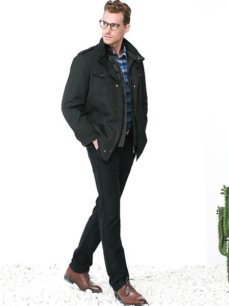 富绅男装经典夹克