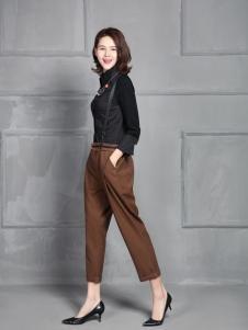凤恋妮女装2017时尚背带裤