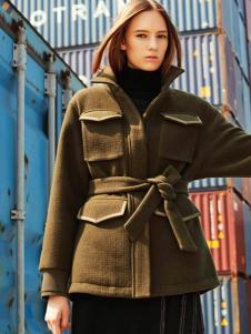 T&W女装英伦复古外套