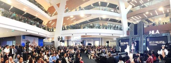 海澜之家马来西亚首店开业盛典