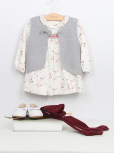 阳光鼠童装时尚裙子两件套