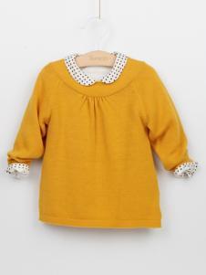 阳光鼠童装女童毛衫