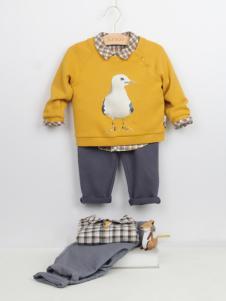 阳光鼠童装品质毛衫