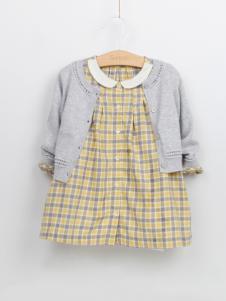 阳光鼠童装女小童时尚两件套