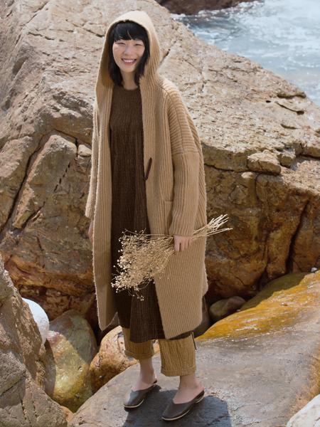 因为zolle女装17新款外套