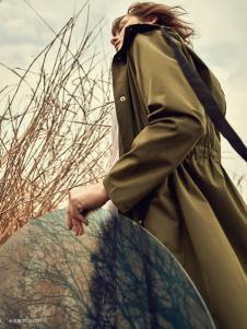 丽芮女装时尚风衣2017新款